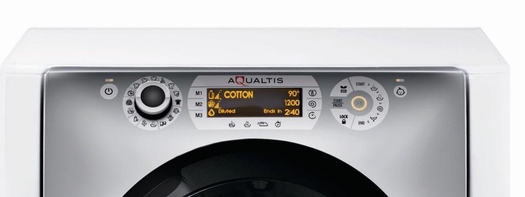 panou control superior hotpoint aqualtis AQS73D29