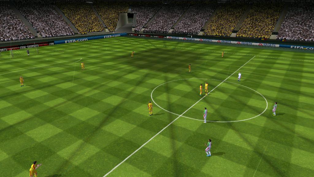 Romania - Ungaria Fifa 12 Commerzbank Arena