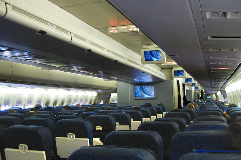interior boeing 747-700