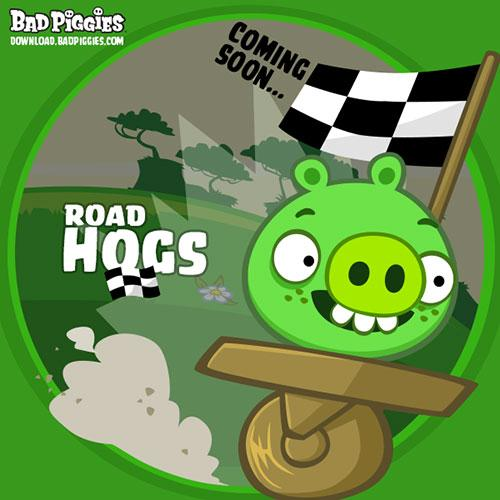 Road Hog - update pentru jocul Rovio Bad Piggies