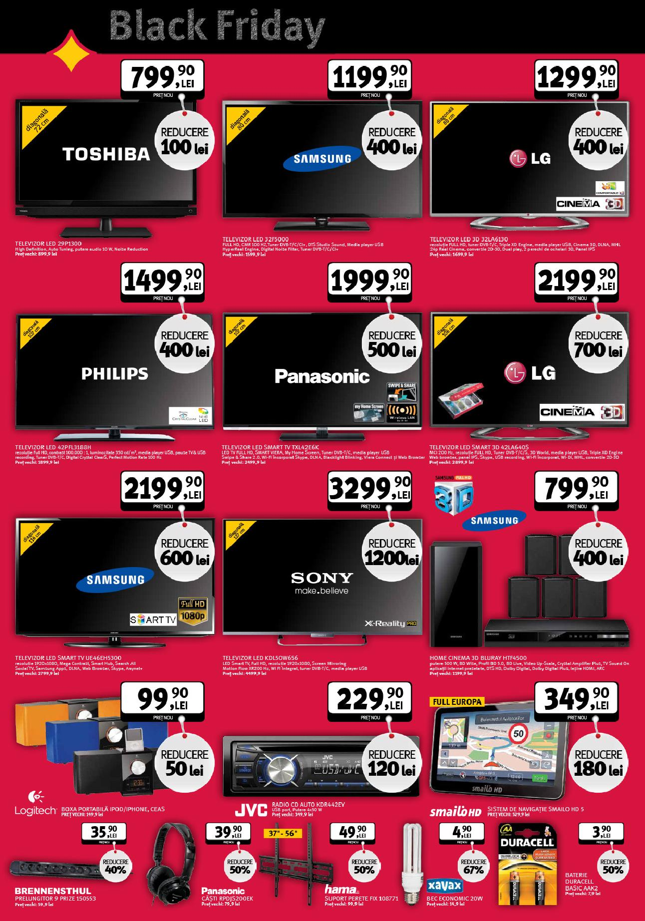 catalog altex black friday televizoare