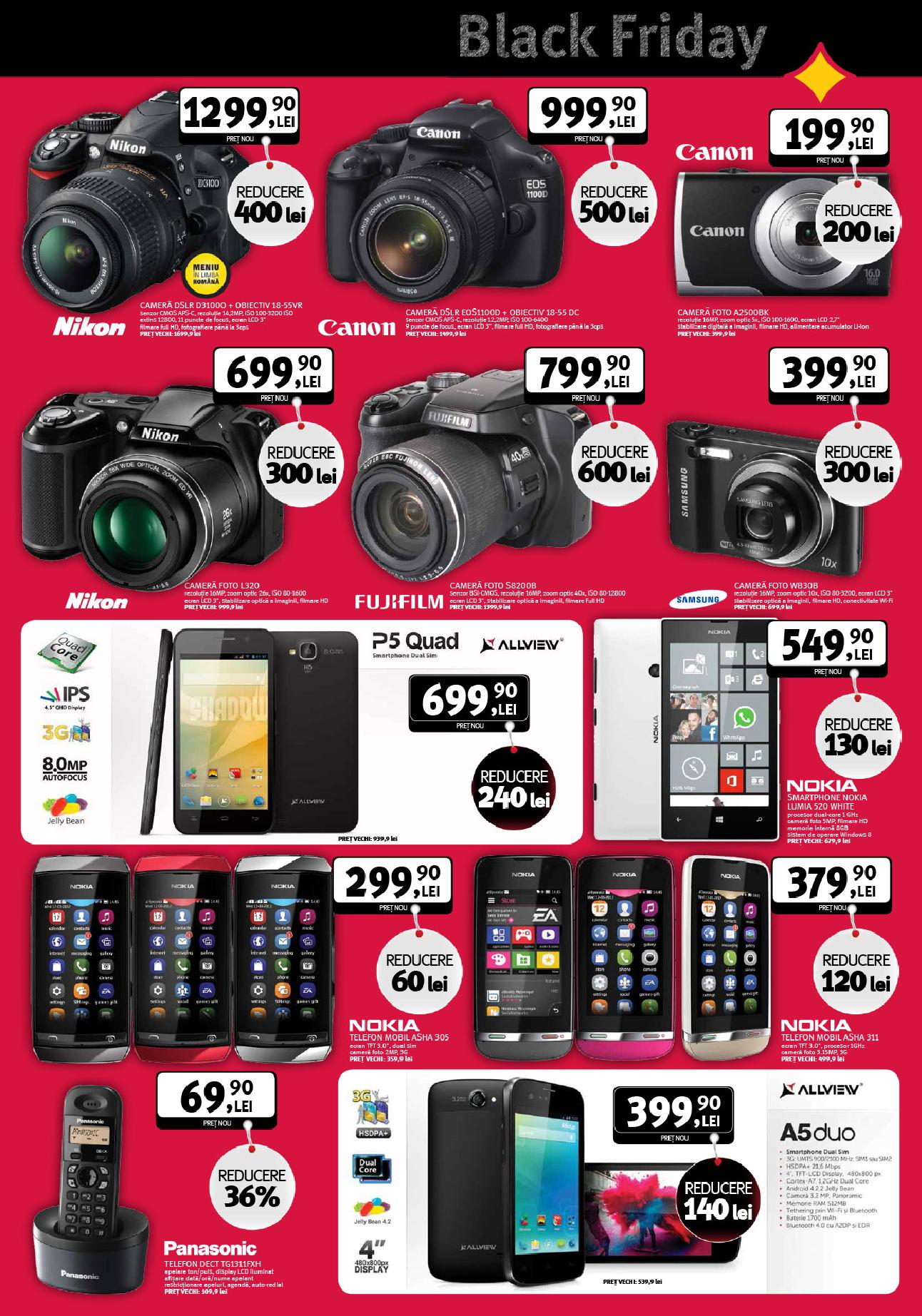altex reduceri black friday catalog it si telefoane, foto