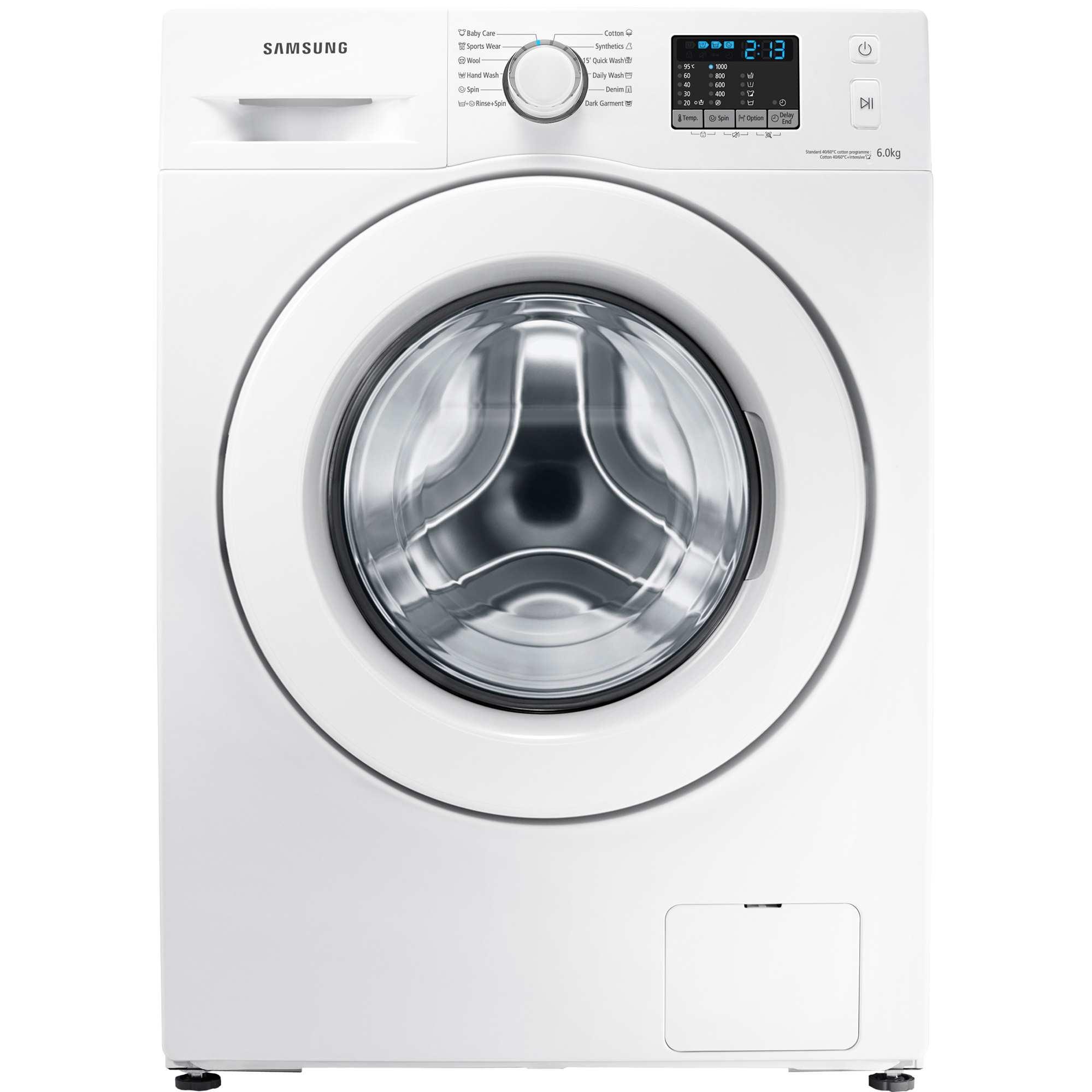 Masina de spalat rufe Slim Samsung WF60F4E0N0W
