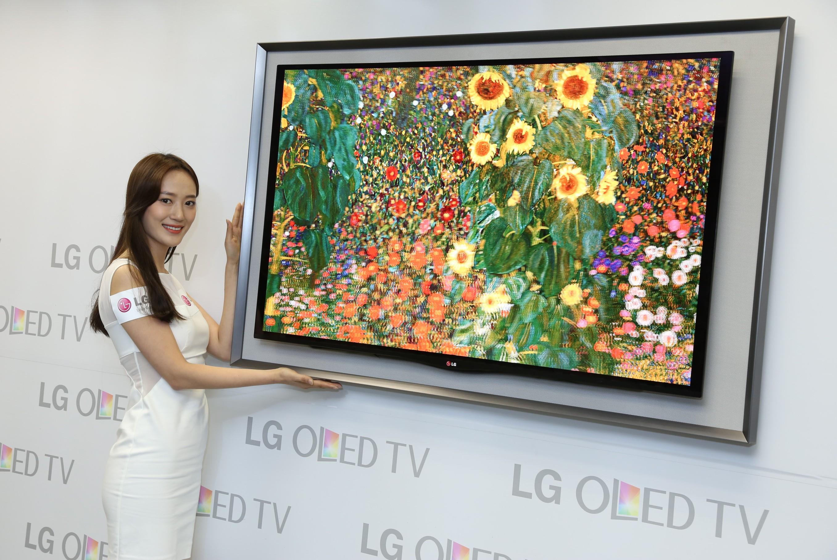 Televizor Smart TV LG Gallery OLED LG 55EA8800