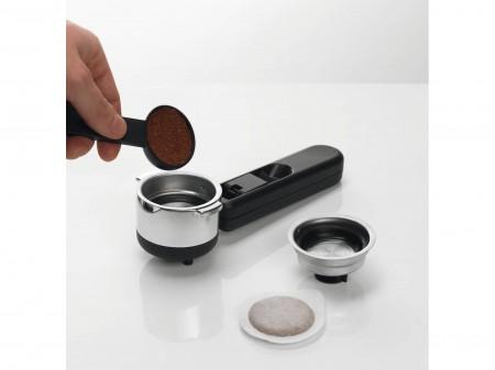 Dispozitiv de spumare pentru Espressor manual DeLonghi EC221.B, Sistem cappuccino, 15 Bar, Oprire automata
