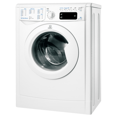 Masina de spalat rufe SLIM Indesit IWSNE 61252 C ECO, 6 kg,viteza de centrifugare 1200 rotatii/minut, clasa A++