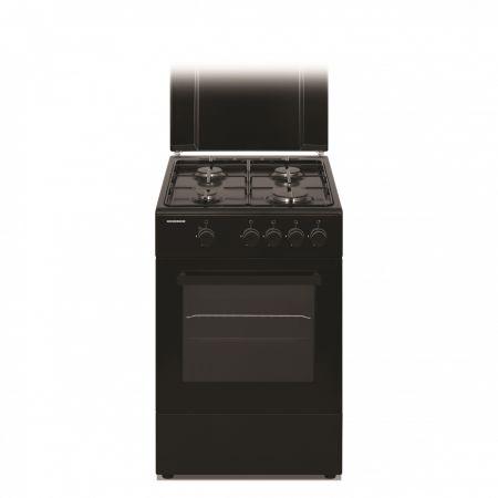 Heinner HFSC-S50-BK - aragaz de culoare neagră