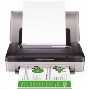 Imprimanta color portabila HP CN551A officejet 100