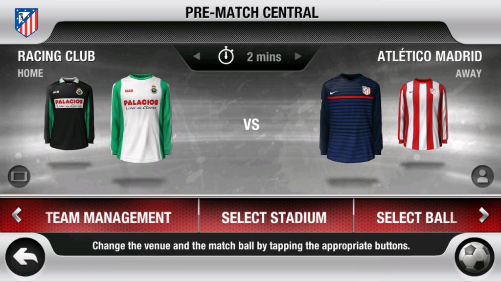 Selectia tricourilor, stadionului si a mingii inainte de meci