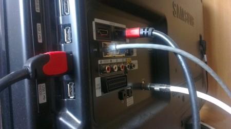 Port conectare HDD USB la televizor