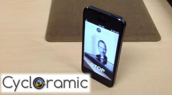 Aplicatie iPhone si iPad Cycloramic