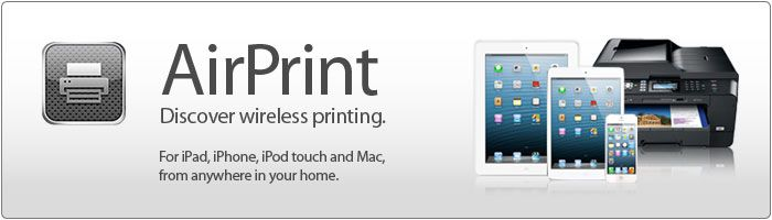 Apple AirPrint - printare wireless de pe dispozitive Apple ca iPhone, iPad, iPod