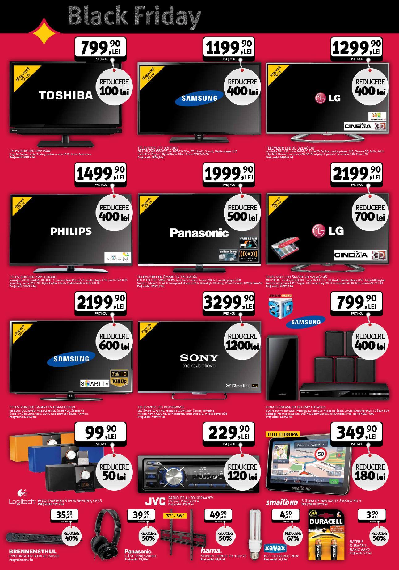 catalog altex black friday televizoare