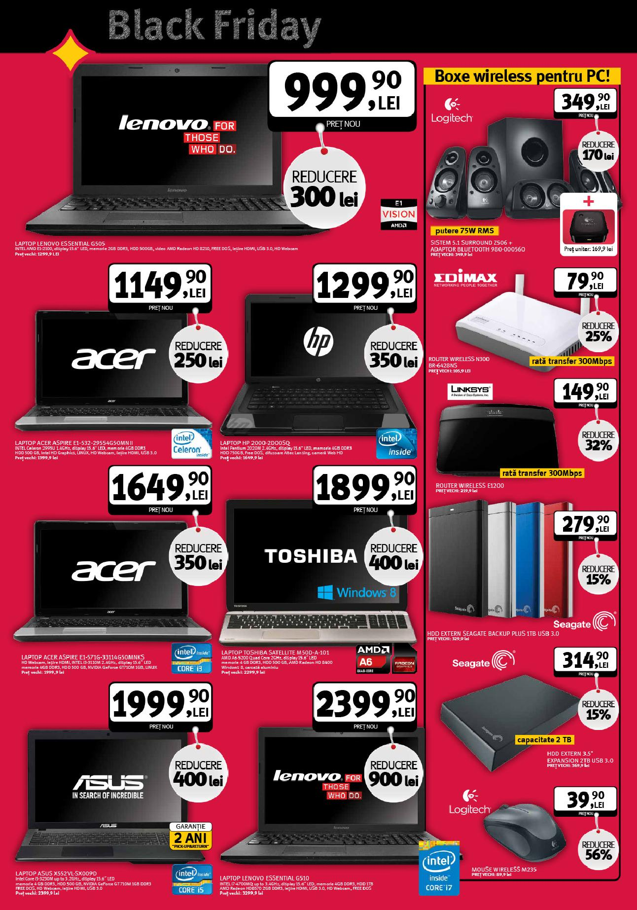 catalog altex black friday laptopuri si it