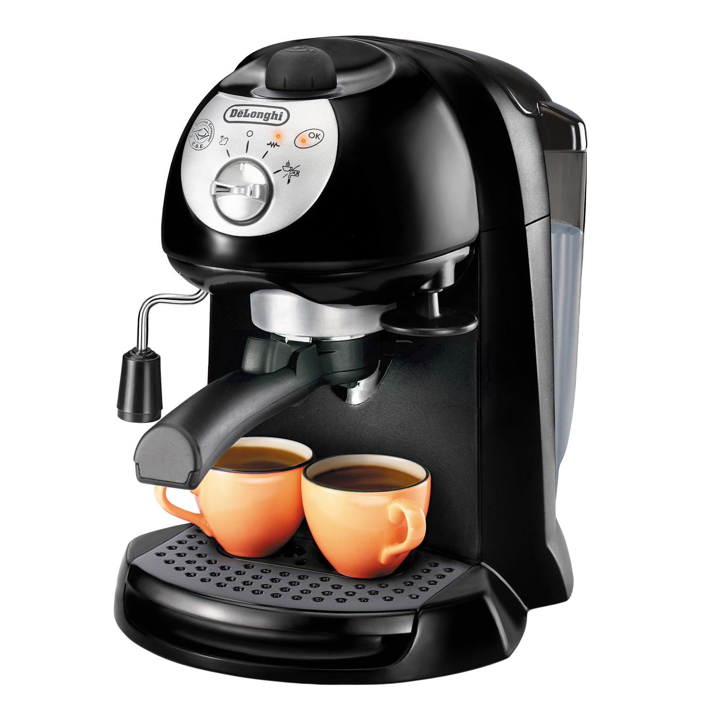 Espressor manual 2 in 1 cafea macinata si capsule DeLonghi EC 200.CD