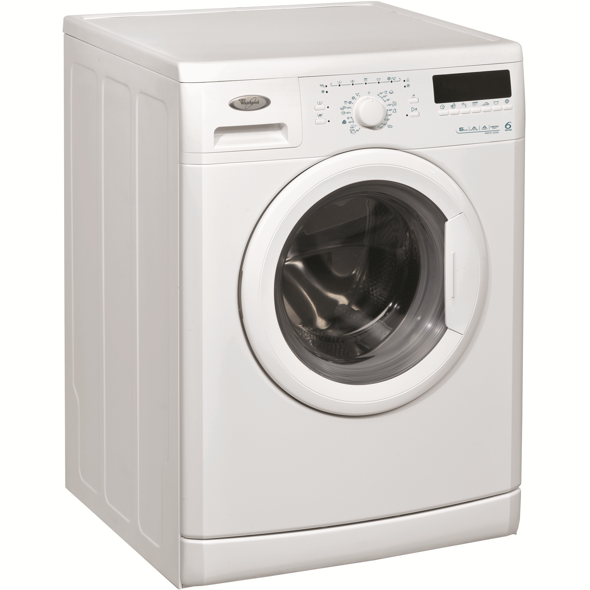 Masina de spalat rufe 6th Sense Whirlpool AWO/C52200