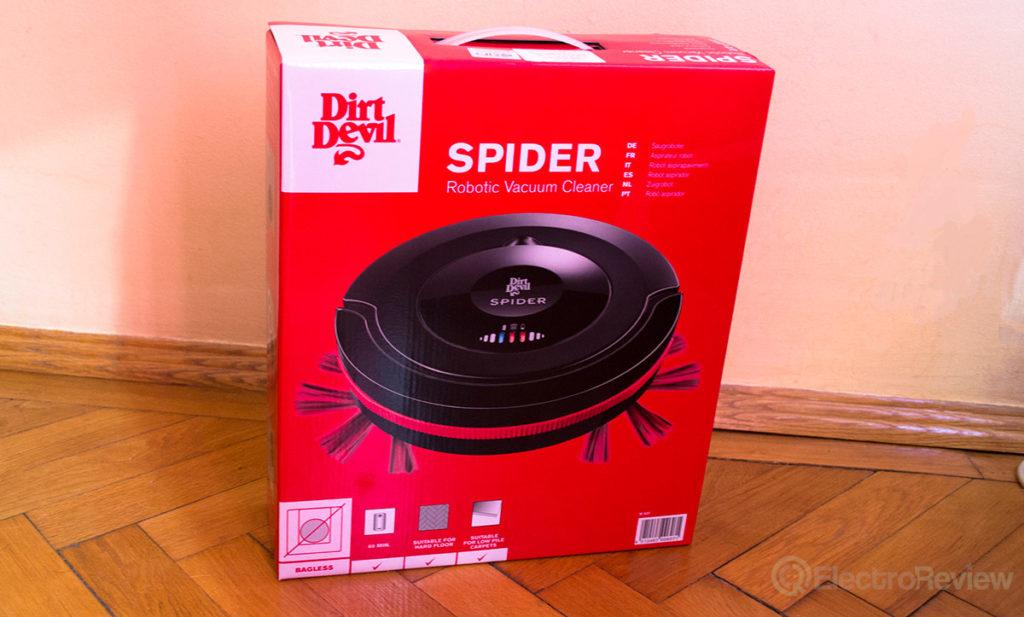 Cutie aspirator Robot de aspirare Dirt Devil Spider M607
